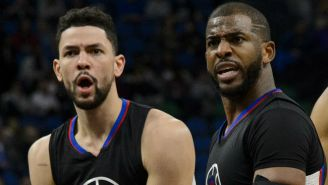 Austin Rivers Has 'No Problems' With New Rockets Teammate Chris Paul