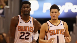 Deandre Ayton And Devin Booker 'Exchanged Words' After The Suns Lost To Portland
