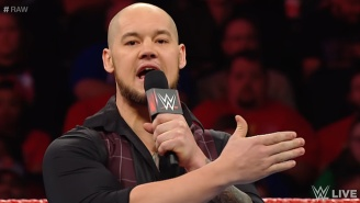 Baron Corbin Defended Raw Against Angry Fans