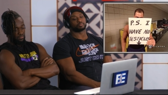 The 'WWE Superstars React To Try Not To Laugh Challenge' Will Make You Love Big E Even More