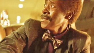The New 'Black Monday' Teaser Stars Don Cheadle And His Tight Purple Underwear