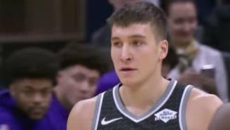 The Kings Beat The Lakers On A Game-Winning Three By Bogdan Bogdanovic At The Buzzer
