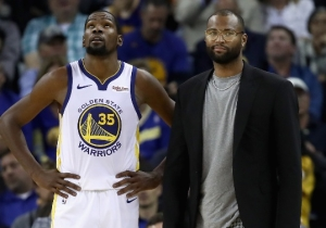 The Warriors' Plan B May Include Featuring DeMarcus Cousins More If They Can Re-Sign Him