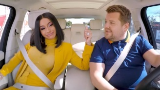 Watch Cardi B Crash A Seniors Dance Class During Her Hilarious 'Carpool Karaoke' Segment