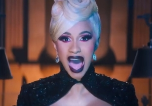 Cardi B Plays The Piano Naked And Returns To Her Stripper Roots In The NSFW 'Money' Video