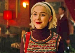 The 'Chilling Adventures Of Sabrina: A Midwinter's Tale' Trailer Rings In The Holiday Cheer With Demons