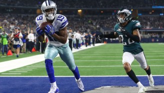 The Cowboys Beat The Eagles In OT On A Tipped Ball Catch By Amari Cooper