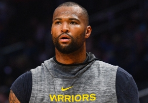 DeMarcus Cousins Will Get Examined For A Possible Knee Injury
