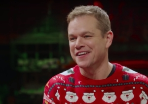 Matt Damon Has His Secret Santa Game Ruined In The New 'SNL' Promo