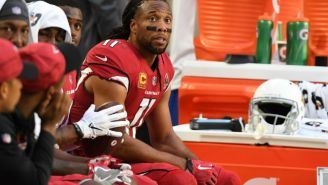Larry Fitzgerald Gave A Special Christmas Gift To A Retiring Cardinals Reporter