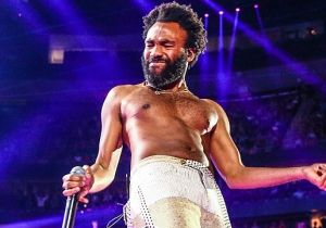 At Donald Glover's Final Show As Childish Gambino, His Alter Ego Died And Went To Heaven