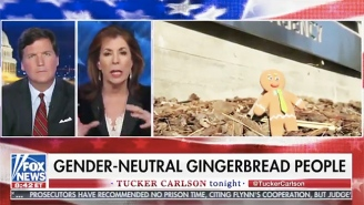 A Fox News Commentator Takes Umbrage With Gender-Neutral Gingerbread People
