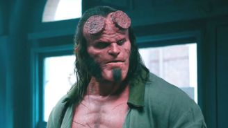 The First Trailer For David Harbour's 'Hellboy' Reboot Features A Devil With Daddy Issues
