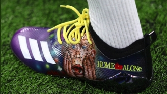 Stefon Diggs Broke Out Some Awesome 'Home Alone' Cleats On Sunday