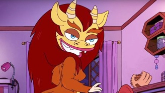 This Drag Queen Inspired By The 'Big Mouth' Hormone Monstress Gives A Maya Rudolph-Worthy Performance