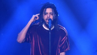 J. Cole's Platinum With No Features Album Sales Streak Continues With 'KOD'