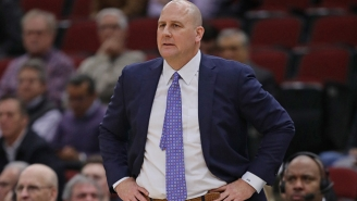 Coach Jim Boylen Has Taken To Doing Push-Ups With The Struggling Bulls