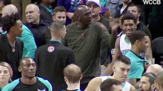 Michael Jordan Smacked Malik Monk Upside The Head After His Technical For Running On The Court