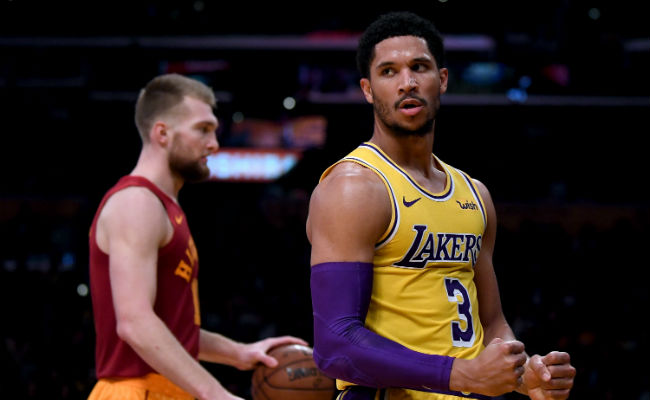 new products 505bf 99527 Lakers Guard Josh Hart Is Out 12 Weeks After A Procedure On ...
