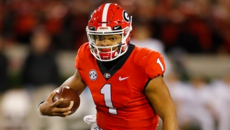 Former Five-Star QB Justin Fields Reportedly Plans On Transferring From Georgia