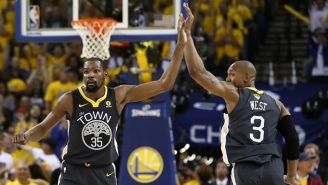 David West Believes He Could've Prevented The Kevin Durant-Draymond Green Ordeal