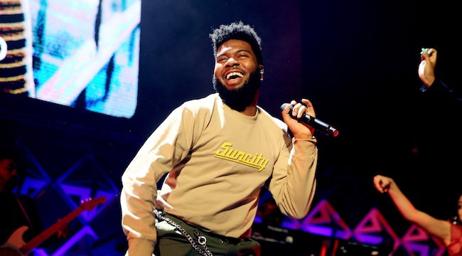 Khalid And His Crew Dressed Up As 'Sesame Street' Characters For Clairo's 21st Birthday