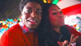 Kodak Black Proposes To Yung Miami With A Ring Pop In His Festive 'Christmas In Miami' Video