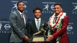 Kyler Murray Beat Out Tua Tagovailoa For The 2018 Heisman Trophy
