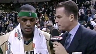LeBron And Jay Bilas Both Miss The Hair They Had In James' First National TV Game In High School