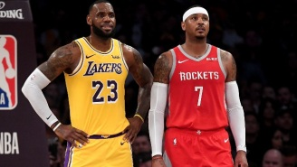 Some NBA Execs Allegedly Believe Carmelo Anthony's Likeliest Destination Is The Lakers