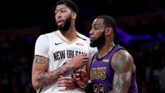 Anthony Davis Will Have To Wait A Year Before He Can Take LeBron's No. 23 Jersey