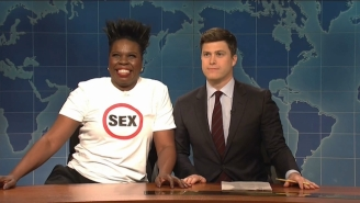 Leslie Jones Swears Off Sex In Her Latest 'SNL' Rant