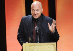 Louis C.K.'s 'Joke' About Parkland Survivors Did Not Go Over Well With A Shooting Victim's Father