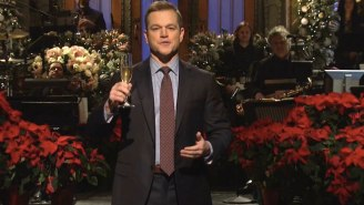 Matt Damon Dedicates His 'SNL' Monologue To Parents Who Let Their Kids Stay Up