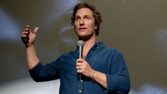 Matthew McConaughey Gave His High School's Football Team A Pep Talk Before It Won A State Championship