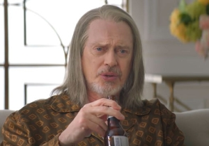Steve Buscemi Is A Beer-Drinking, Cable News TV-Watching God In The First 'Miracle Workers' Trailer