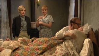 "'SNL' Finally Answers The Question, ""What If The Grandparents From 'Willy Wonka' Had Sex?"""