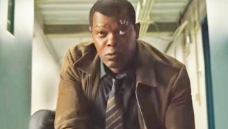 The 'Captain Marvel' Trailer Has Sparked An Incredible Fan Theory About Nick Fury And The Cat