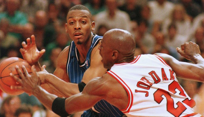 big sale cf7c9 ac0c3 Penny Hardaway On Why Jordan Wore His Shoes In The Playoffs ...