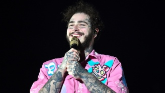 Post Malone Got A Hilarious Olive Garden Christmas Gift From Dennis Rodman