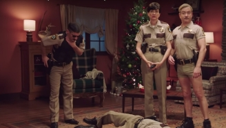 The New 'Reno 911!' 'Holiday Survival PSA' Is Here To Help You Survive Your Family Feuds