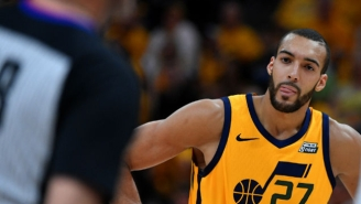 Rudy Gobert Warns 'It's Gonna Get Ugly' If He Keeps Getting Dubious Foul Calls