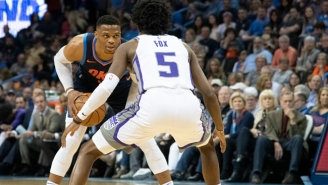 Russell Westbrook Told De'Aaron Fox 'I'm Too Fast' After A Coast-To-Coast Layup