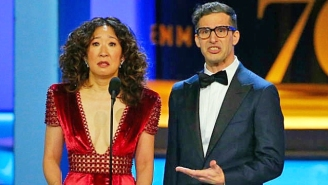 Sandra Oh And Andy Samberg Will Co-Host The 2019 Golden Globes