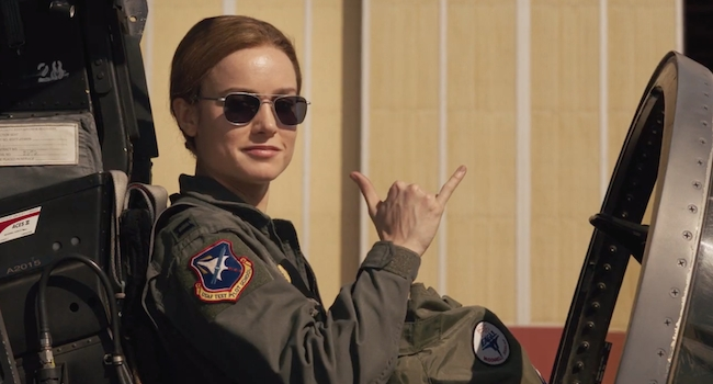 The New 'Captain Marvel' Trailer Shows Us Why Brie Larson Punched That Old Woman