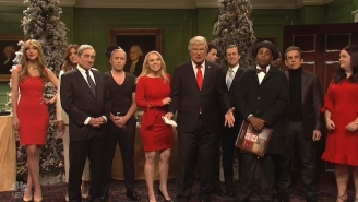 'SNL' Imagines A 'Wonderful' World Where Donald Trump Was Never President In The Cold Open