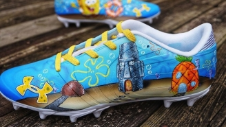 Falcons Receiver Mohamed Sanu's Cleats Paid Tribute To SpongeBob Creator Stephen Hillenburg