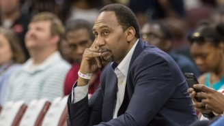 Stephen A. Smith Will Sleep On Whether Or Not He'll Tell D'Angelo Russell To 'Stay Off The Weed'