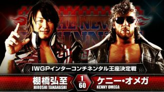 Looking Back At The First Kenny Omega Vs. Hiroshi Tanahashi Match, Ahead Of Wrestle Kingdom 13