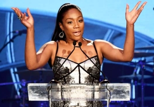 Tiffany Haddish Says She Plans To Wear Fur Until Police 'Stop Killing Black People'